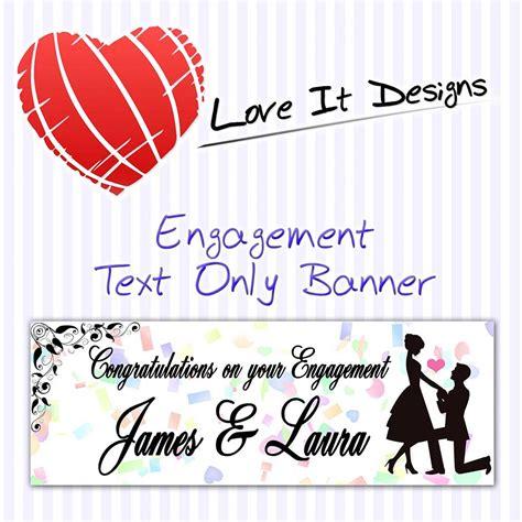 design engagement banner engagement text only banner love it designs