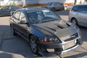 Mitsubishi Evolution 2003 2003 Mitsubishi Lancer Evolution Pictures 2 0l Gasoline