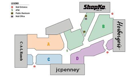 layout of vista ridge mall store directory