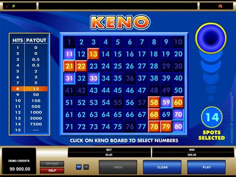 keno  casinos play   keno casino games
