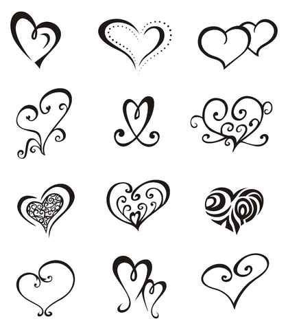 simple love heart tattoo designs girly tattoos simple tattoos easy tattoos and