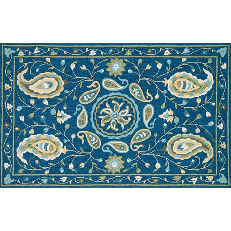 Blue Green Area Rug Loloi Rugs Blue Green Area Rug Reviews Wayfair