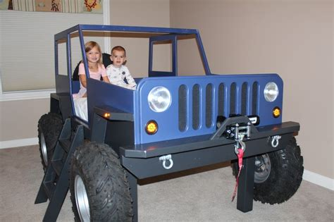 jeep bed in kids jeep bed http www etsy com listing 173413224