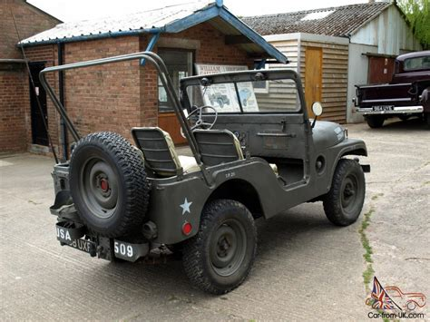 american jeep willys jeep m38a1 1953 military american usa army classic
