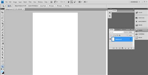 tutorial adobe photoshop sederhana tutorial membuat poster sederhana dengan photoshop