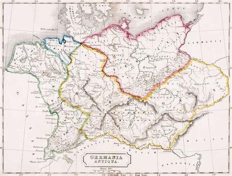 maps germania deutschland alte karte