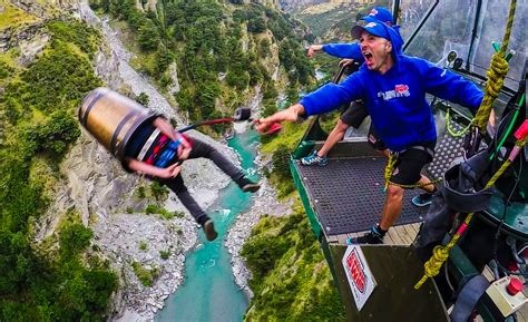 best bungee jumping bungy jumping the in new zealand