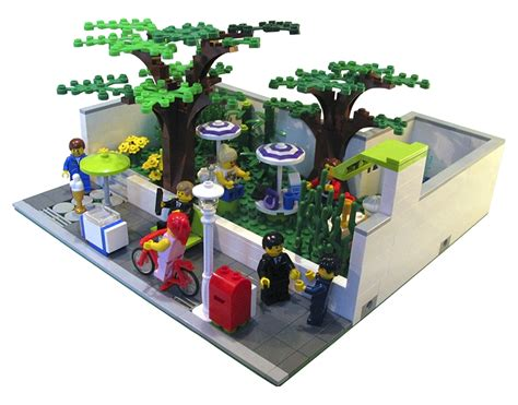 Modern Country Homes Interiors modular madness pocket park lego town eurobricks forums