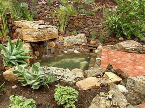 hillside garden ideas waterfall terraced garden hgtv