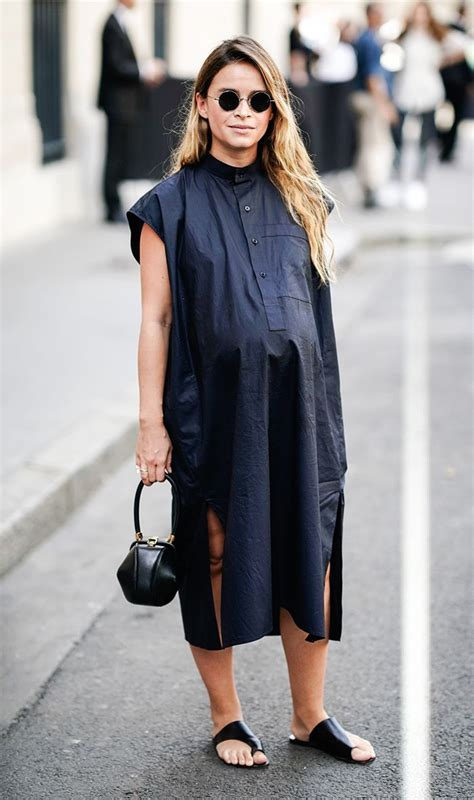 cute maternity outfits   street styleapproved