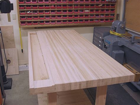 bench tops how to make your own woodworking bench top
