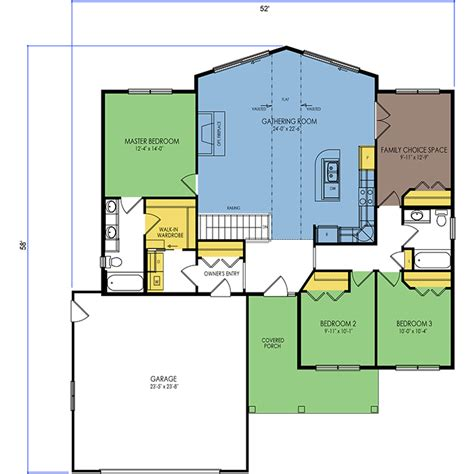 lake home floor plan wausau homes