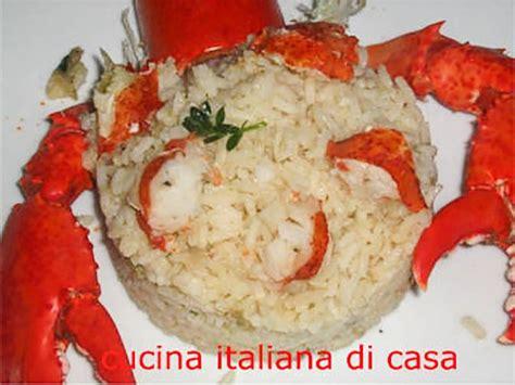 cucinare astice congelato riso con astice o aragosta ricette di cucina
