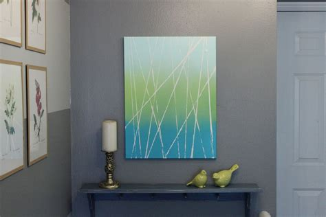 diy paintings for home decor 10 ways to diy modern art with spray paint