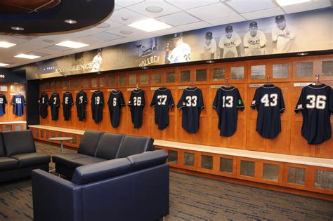 Baseball Locker Room by Domeballrundown Inside Notre Dame Baseball 2012