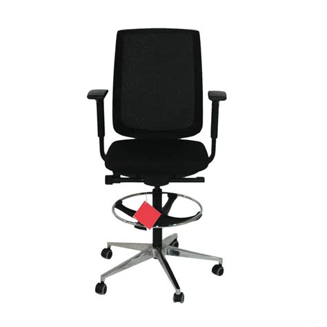 steelcase reply chair warranty steelcase reply draughtsman chair in new black fabric