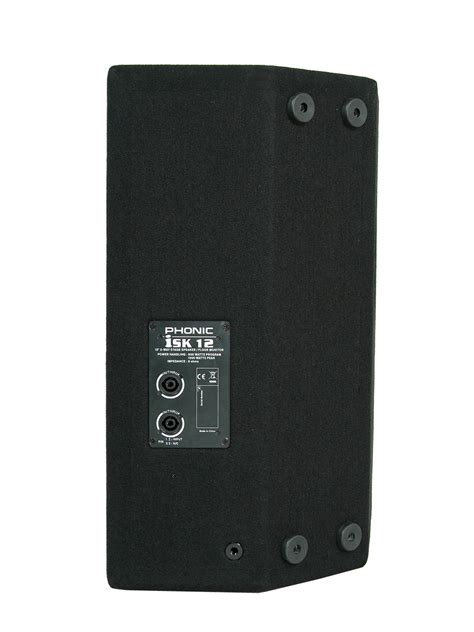 Isk Ds5a Speaker Monitor phonic isk 12 quot 2 way 700w passive dj stage speaker cab floor monitor isk12 bm ebay