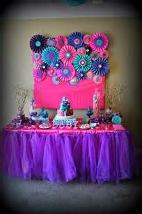 teal and pink baby shower decorations pink purple turquoise it s a baby shower ideas