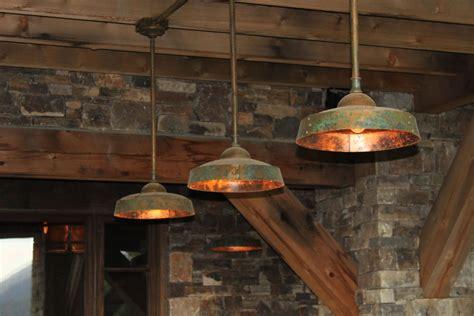 Rustic Light Fixtures Barn Ironglass Lighting Barn Light Pendant