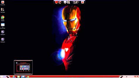 themes for windows 7 iron man iron man theme for windows 7 8 10 youtube