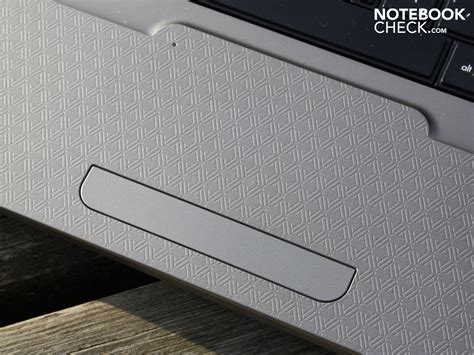 Touchpad Notebook review hp g62 130eg notebook notebookcheck net reviews