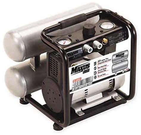 maxus 1nne9 air compressor 120 v 1 1 hp 2 5 gal tank
