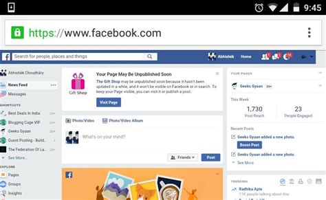Fb Desktop Full Version | how to access facebook desktop version on your mobile