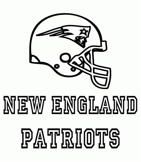 Free Printable Patriots Coloring Pages Coloring Home Patriots Coloring Pages Free