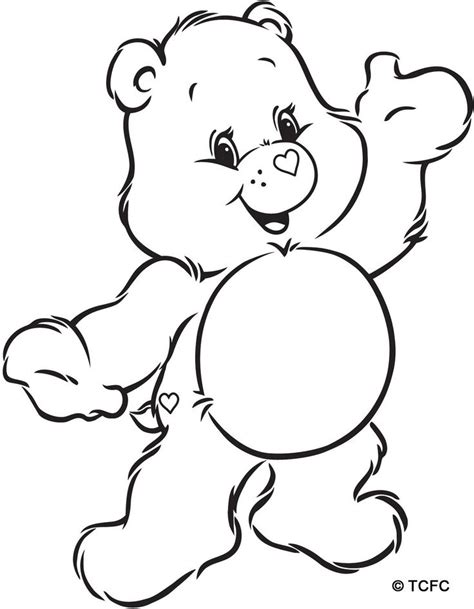 cheer bear coloring pages cheer bear coloring pages download and print for free