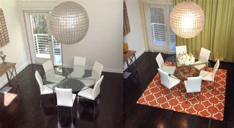 Modern Dining Room Rugs Happy Customers Modern Dining Room Los Angeles By Modern Rugs La