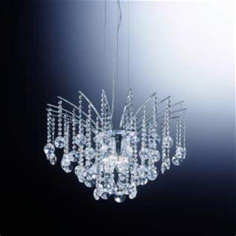 pendelleuchte kristall pendelleuchte kristall transparent metall chrom kaufen