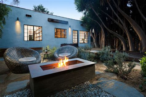 modern pits beautiful inspiring outdoor firepits
