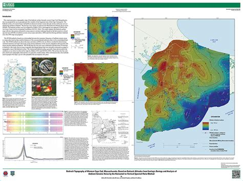 geology of cape cod scientific investigations map 3233 bedrock topography of