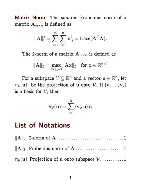 latex nomenclature tutorial latex exle amanin