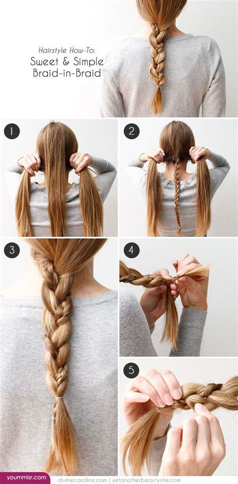 easy step by step hairstyles do by own at any time 25 best ideas about quick easy hairstyles on pinterest