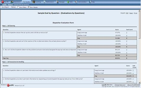 call center quality evaluation form quotes