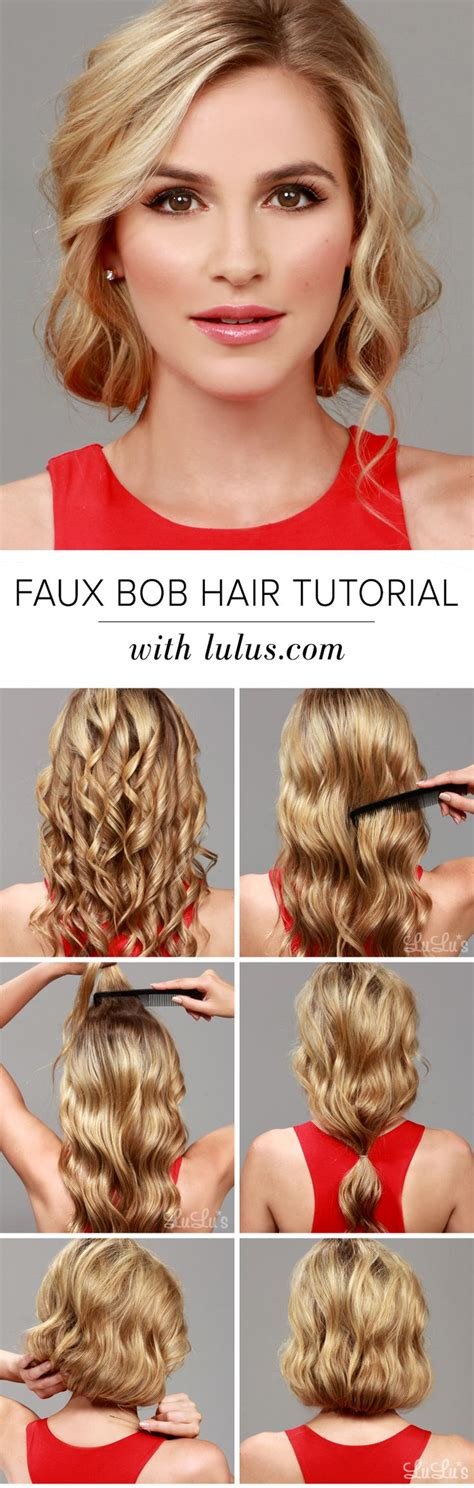bob hairstyles tutorial 15 elegant thanksgiving hairstyles you can easily do by