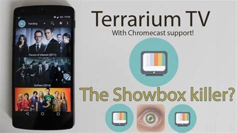 terrarium tv premium  apk mod ads removed apk