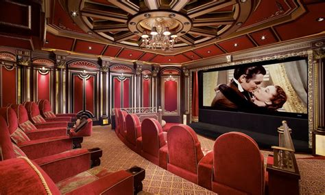interiors movie home theater in estate residence home decor pinterest