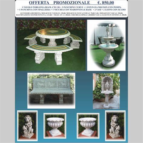 arredo da giardino offerte offerta speciale arredo giardino miccich 232 architetture