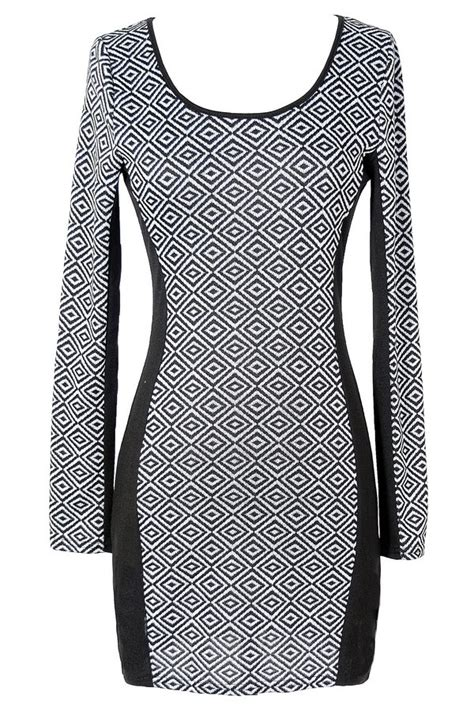 diamond pattern clothes called black and grey diamond pattern dress lily boutique