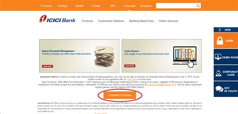 icici bank credit card statement icici bank credit card bill view statement without login