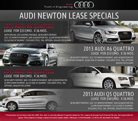 Audi Special Lease by 1000 Ideas About Audi Lease Specials On Lease