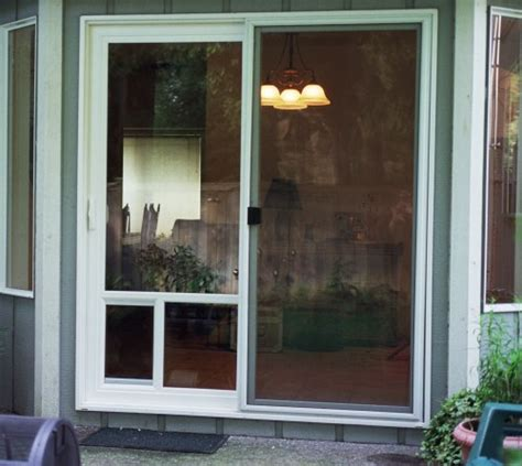 Doggie Doors For Patio Doors Pet Doors Usa Easy Fit Patio Panels Door For Sliding Glass Door