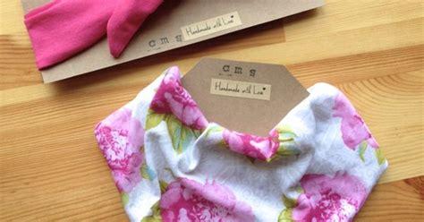 Headband Babyhair Pin Kidbandana Elegante Blue pink knot headband and bandana bib set in pretty pink flower vintage print for baby