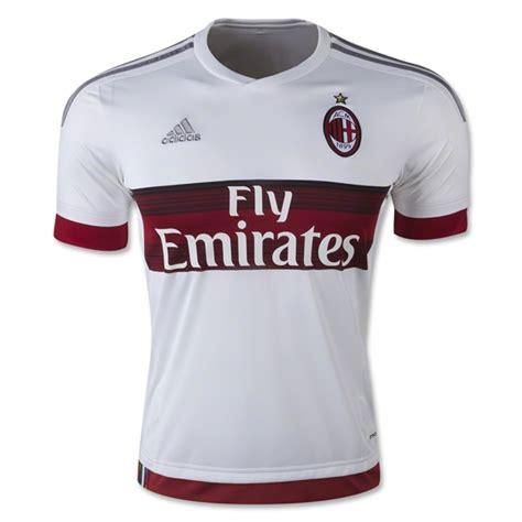 Jersey Juventus Away 1516 ac milan 15 16 away soccer jersey white ac milan
