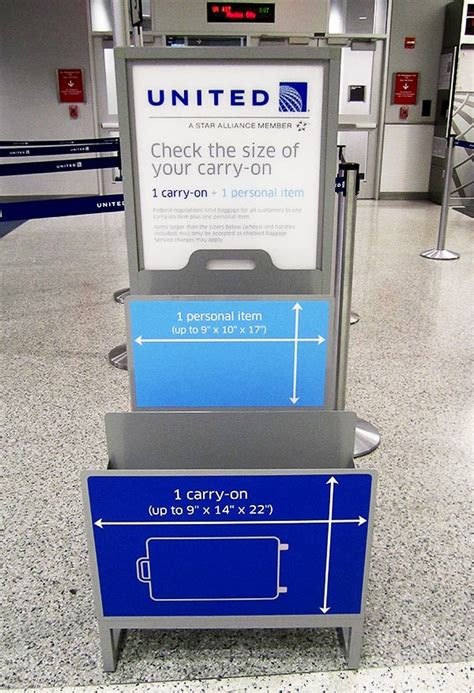 united airlines domestic baggage will united s bag sizing policy work pearls of travel