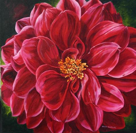 acrylic flower 17 best ideas about acrylic painting flowers on