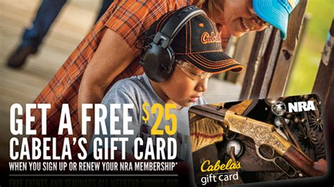 Will Bass Pro Honor Cabela S Gift Cards - nra membership gift card gift ftempo