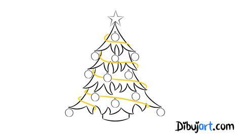 c 243 mo dibujar un 193 rbol de navidad paso a paso dibujart com